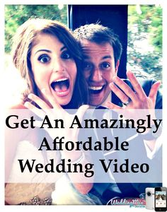 Get your fun, budget-friendly wedding video with Bride's #1 rated video app! Start using the free @WeddingMix app (even before the wedding day) to save EVERY guest photo & video - editors turn your favorite moments into an amazing DIY wedding video. Check your wedding date for reserve availability - before time runs out.