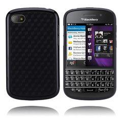 Edge (Sort) BlackBerry Q10 Deksel