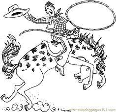 cowboy coloring printable coloring page cowboy coloring page 10 cartoons