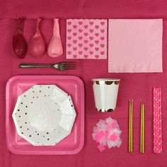 THINK PINK - THE PERFECT PARTY BOX - Bonjour Fête - 1