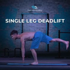 TIGHT HAMSTRINGS OR PAIN IN LOWER BACK? - Try this exercise!  TODAY'S CHALLENGE: Single Leg Deadlift Reps: 3 rounds x 10 reps  This is one of our favourite exercises because it is a whole body, complete, functional movement.  If done right it engages the entire posterior chain including - hamstrings, gluts, back extensors, calves etc ) Single Leg Deadlift, Tight Hamstrings, Calisthenics, Calves, Athlete, Exercises, Challenges, Legs, Chain