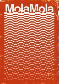 sara-lindholm:    Graphic design, Mola mola