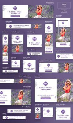 Promo Bundle Choose a Dress , Banner Template, Flyer Template, Ads Banner, Corporate Design, Tumblr Banner, Display Ads, Display Banners, Web Banners, Google Banner
