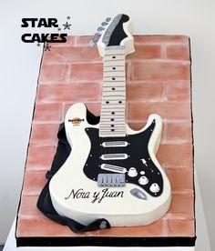 Tarta Guitarra Guitar Cake