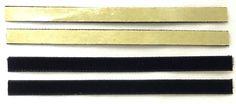 VPI Strips Set of 4 Replacement Felt/Velvet/3M Strip Vinyl Record Okki Nokki #VPI