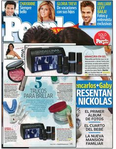 People En Espanol May 2012 issue featuring SensatioNail's Starter Kit