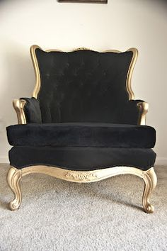 tufted chair makeover