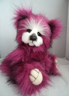 """ Reduced Magenta "" by Bearalicious Bears"