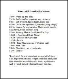 Buy the Complete Preschool Curriculum Program with Daily Lesson ...