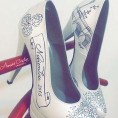 Zapatos de novia Bride shoes