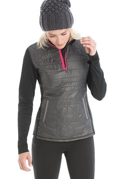 This shapely layering piece treats you to lightweight warmth in our cozy  Polished Fleece. Ideal 4f1ec2e5b3