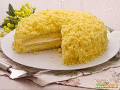 Ricetta torta mimosa: buonissima sempre, non solo alla Festa della Donna  #ricette #food #recipes