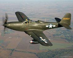 El Bell P-63 Kingcobra fue un caza estadounidense desarrollado en la Segunda Guerra Mundial.