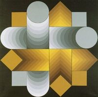 Lyra by Victor Vasarely