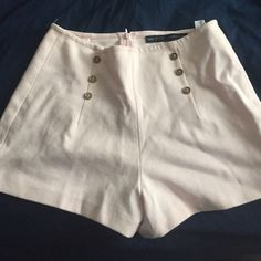 Zara Shorts Very light soft pink shorts from Zara. Never worn, but does not have the tags. Open to offers. Zara Shorts