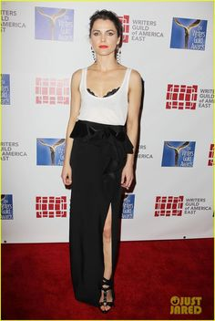 Keri Russell & Emily Mortimer: Writers Guild Awards 2014! | keri russell emily mortimer writers guild awards 2014 01 - Photo
