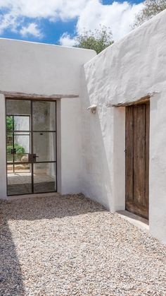 Trendy House Old Exterior Window Patio Interior, Home Interior Design, Exterior Design, Interior And Exterior, Stucco Exterior, Villa Design, House Design, Future House, My House