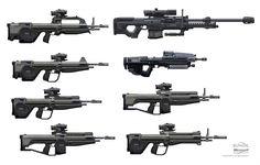 Battle Rifle Concepts