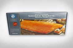 Alaska Smoked Salmon - Copper River Seafoods, Inc. - 4 Pack Gift Set - Alaska Smoked Sockeye Salmon (24 oz. each - 96 oz. total) - http://mygourmetgifts.com/alaska-smoked-salmon-copper-river-seafoods-inc-4-pack-gift-set-alaska-smoked-sockeye-salmon-24-oz-each-96-oz-total/