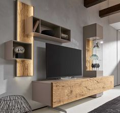 Möbel Bohle Combination TV Wall Unit Oak & Glass Barker & Stonehouse Custom Designs for Photo Albums Advances in photographic technology i. Living Room Tv Cabinet, Ikea Living Room, Living Spaces, Living Rooms, Tv Unit Decor, Iron Wall Decor, Glass Tv Stand, Living Room Decor Inspiration, Design Case