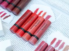 The full collection of Bourjois Rouge Velvet Matte Lipsticks including swatches. The BEST non-drying matte lipsticks.The full collection of Bourjois Rouge Velvet Matte Lipsticks including swatches. The BEST non-drying matte lipsticks.