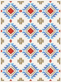 Native american border designs north plains border for Native american tile designs