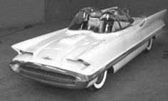 1954 Lincoln Futura concept car, Barris bought it and turned into the first Batmobile