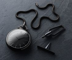 """Inspired by the first French Empire, & Napoleonic swagger…""    March LA.B x Colette Phantom Pocket Watch"