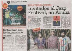 Luci & The Soul Brokers: Proyecto Aruba - El Siglo.