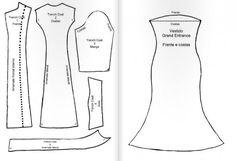 Molde de vestidos