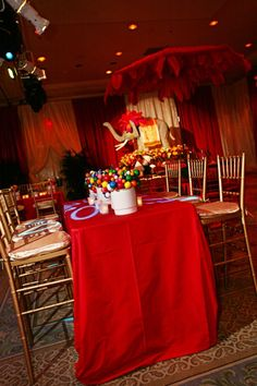 circus theme done right from caplan miller events