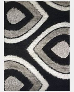Lush Living Rug Numeri Collection Grey Black Shaggy 133x210 | Zando Neutral Colors, Colours, Grey Rugs, Rug Hooking, Shaggy, Buy Shoes, Homemaking, Lush, Kids Rugs