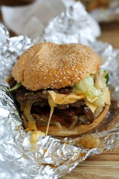 Five Guys There is one in Lufkin TX for my local peeps. It's certainly worth checking out, if a little pricey.