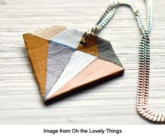 Also a lovely idea for polymer clay
