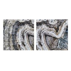 INK + IVY Cool Stone Canvas Wall Art 2-piece Set, Multicolor