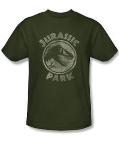 JURASSIC PARK/JP STAMP - Jurassic Park - Movies - TV Shows & Movies | Movie T Shirts | Popfunk