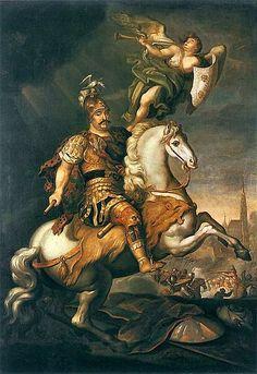 Siemiginowski Sobieski at the Battle of Vienna