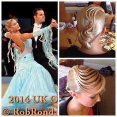 #ballroom #hairstyle