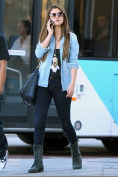 Selena Gomez. I love this outfit