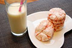 Pink Crinkle Cookies Recipe - Circle of Moms