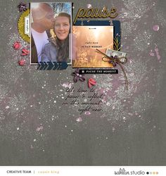 Pause | September '20 Featured Products | Sahlin Studio | Digital Scrapbooking Designs