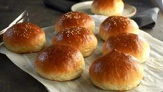 Housky na hamburgery Dumplings, Food And Drink, Baking, Breads, Nova, Pizza, Scrappy Quilts, Bread Rolls, Bakken