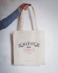 Image of Tote bag Mariée dans l'année