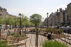 Bordeaux : Bancs de pierre des Allées de Tourny