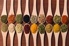 Which spices reduce inflammation? Which herbs can help you relax? Find out below!