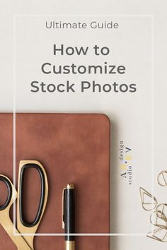 How to Customize Stock Photos - Don't just simply crop them. There are plenty more ways to customize stock photos for your business. Design Case, Web Design, Stock Photo Sites, Business Website, Business Tips, Branding Materials, Web Layout, Simple Way, Cool Things To Make