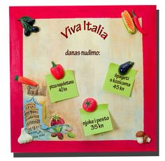 And on today´s menu we have... magnetic paint and fun little vegetable magnets! (vegetable magnets are made with moulds and painted with acrylic colors). You can add a little decoupage if you´re not satisfied with your painting abilities! — Hobby Art Chemaco