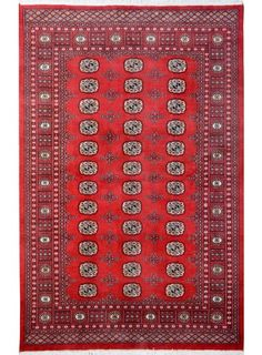 "Rust Oriental Bokhara Rug 5' 1"" x 8' (ft) - No. 12072  http://alrug.com/bokhara-rugs/rust-oriental-bokhara-rug-5-1-x-8-ft-no-12072.html"