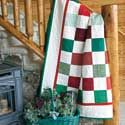 """""""Simple Pleasures"""", featured in McCall's Quick Quilts December/January 2012."""