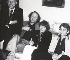 Нью - Йорк, 1976 г. Иосиф Бродский, Белла Ахмадулина, Михаил Барышников.